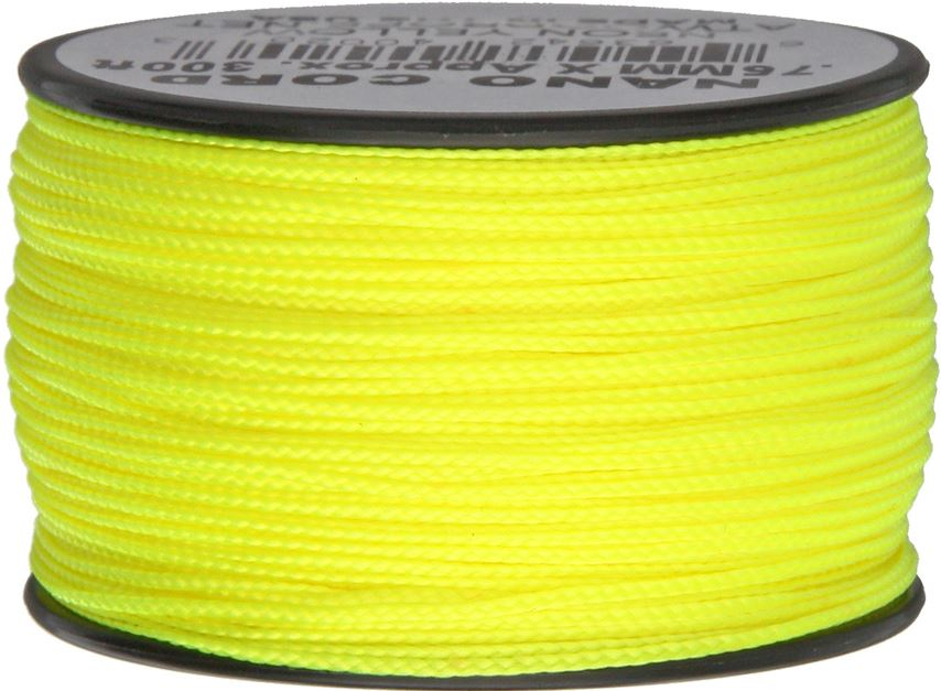 Nano Cord, 300 Ft. Spool - Neon Yellow
