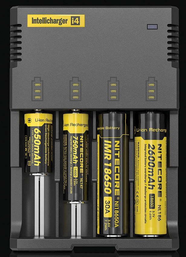 Nitecore i4 Intellicharger 4 Bay Charger