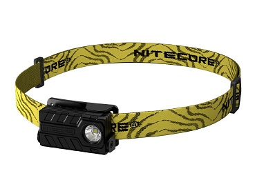 Nitecore NU20BK Trail Running Headlamp, Black - 360 Lumens