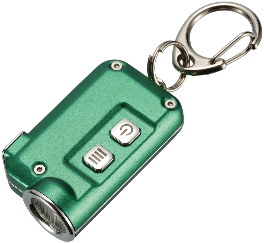 Nitecore TINI Mini Rechargeable Keychain Light 380 Lumens- Green