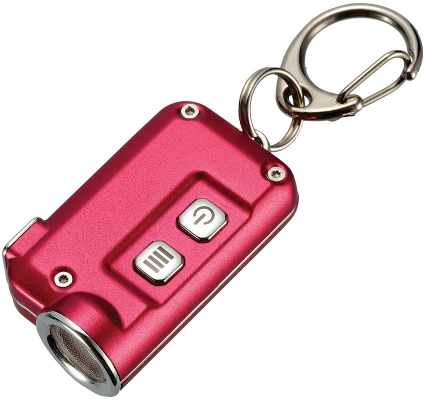 Nitecore TINI Mini Rechargeable Keychain Light 380 Lumens- Red