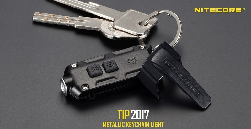 Nitecore TIP Rechargeable Light 360 Lumens- Black [2017 Edition]