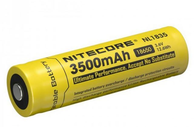 Nitecore 18650 Rechargeable Battery - 3500mAh