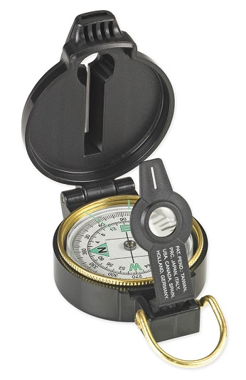 NDUR Lensatic 51540 Compass with Whistle