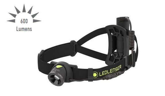 LED Lenser NEO10R Rechargeable Running Headlamp- 600 Lumens