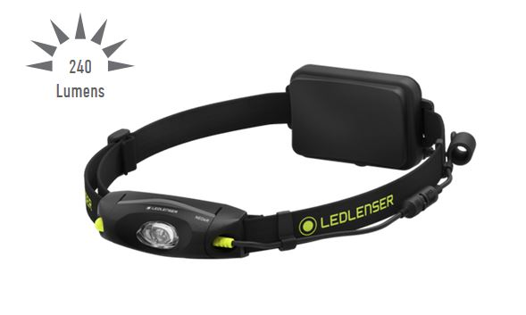 LED Lenser NEO6R Rechargeable Running Headlamp- 240 Lumens