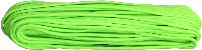 550 Paracord, 100Ft. - Neon Green