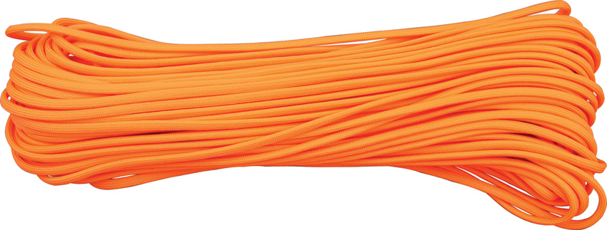 550 Paracord, 100Ft. - Neon Orange