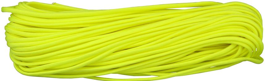 550 Paracord, 100Ft. - Neon Yellow