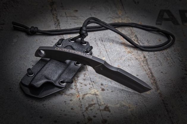 Extrema Ratio N.K. 3 Black Tanto Neck Knife