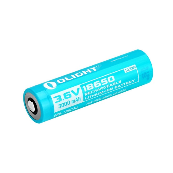 Olight 18650 Rechargeable Li-Ion Customized Battery 3000mAh