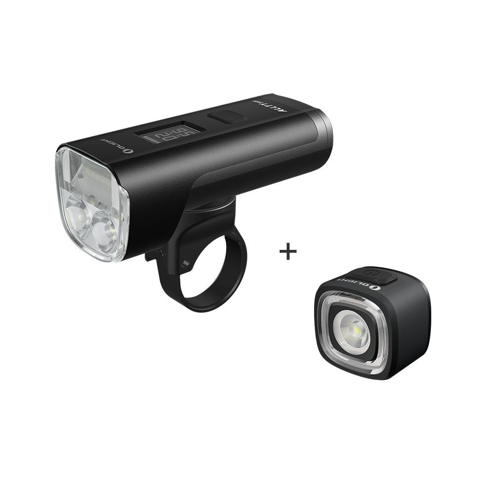 Olight ALLTY 2000 & RN120 Bicycle Light with Tail Light Bundle -