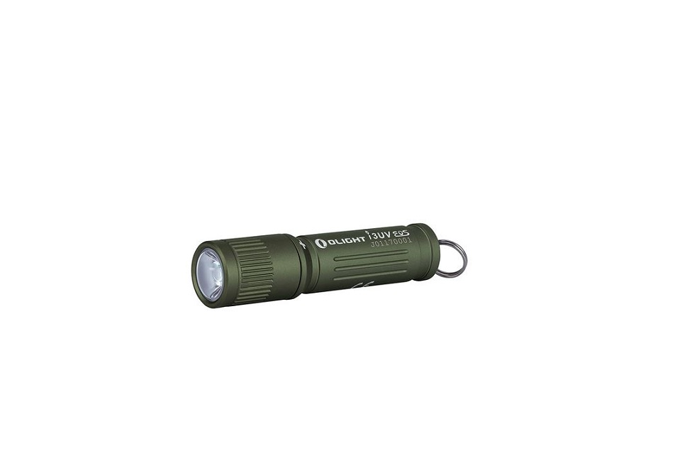 Olight I3UV EOS Keychain Flashlight Green Anodized - 395nm Ultraviolet