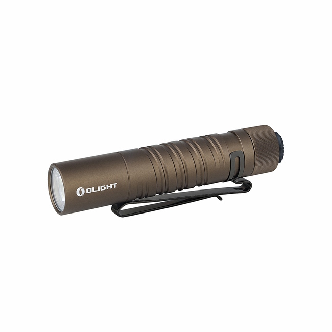 Olight I5T EOS Pocket Flashlight - 300 Lumens - Tan
