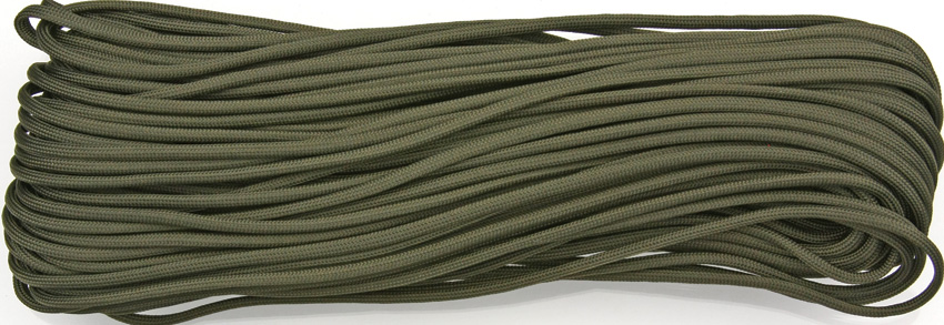 550 Paracord, 100Ft. MIL-SPEC - OD Green
