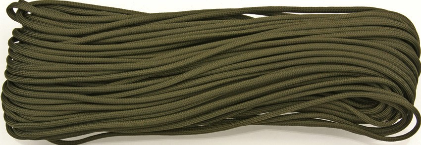 550 Paracord, 100Ft. MIL-SPEC - Green