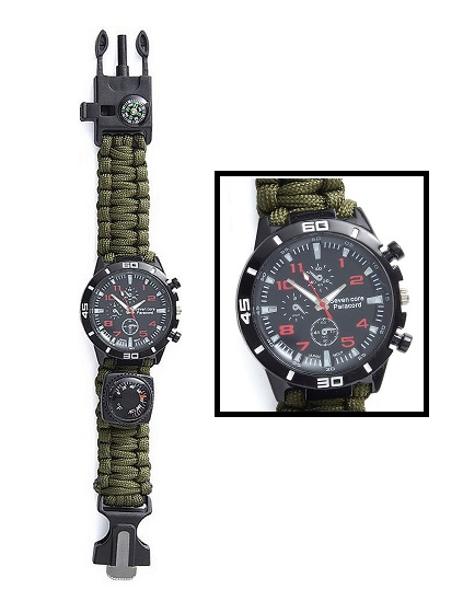 Off Grid Tools Survival Watch (Online Only)