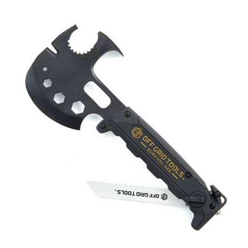 Off Grid Tools Survival Axe ABS- Black
