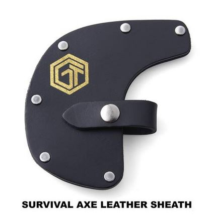 Off Grid Tools Survival Axe Leather Sheath [Sheath Only]