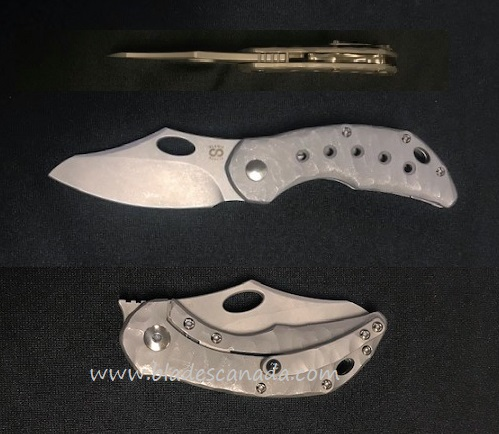Olamic Busker Semper M390 SW, Rocks SW Ti Handle Bronzed Spine