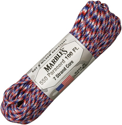 550 Paracord, 100Ft. - Old Glory