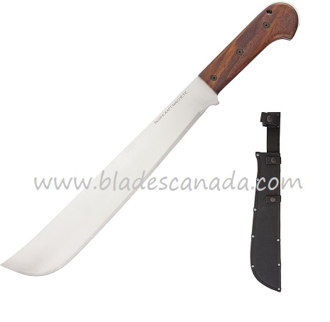 "OKC 8695 Bushcraft Machete 16"" Walnut w/ Nylon Sheath"