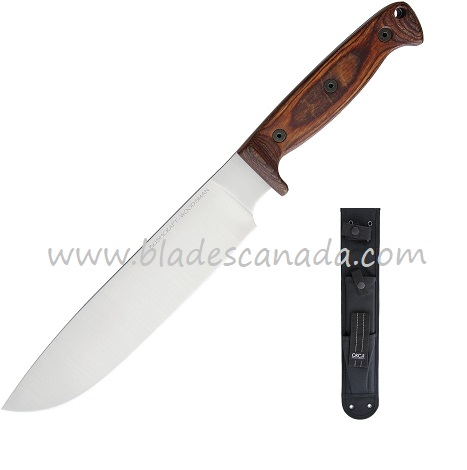 OKC 8697 Bushcraft Woodsman w/ Soft Nylon Sheath