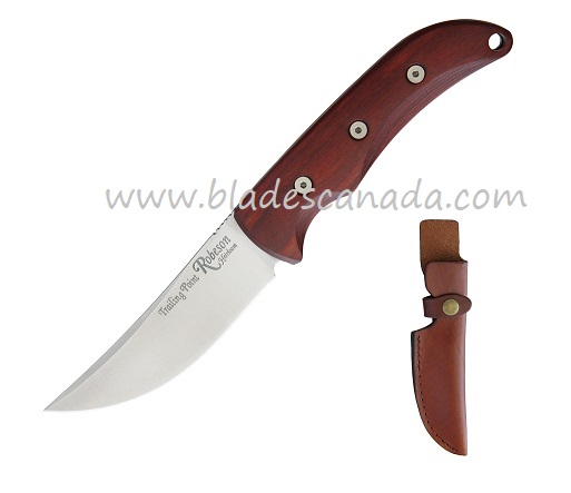 OKC 8699 Robeson Heirloom Trailing Point Hunter- Leather Sheath