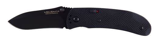 OKC 8873 Joe Pardue Assisted Opening Folder - Black