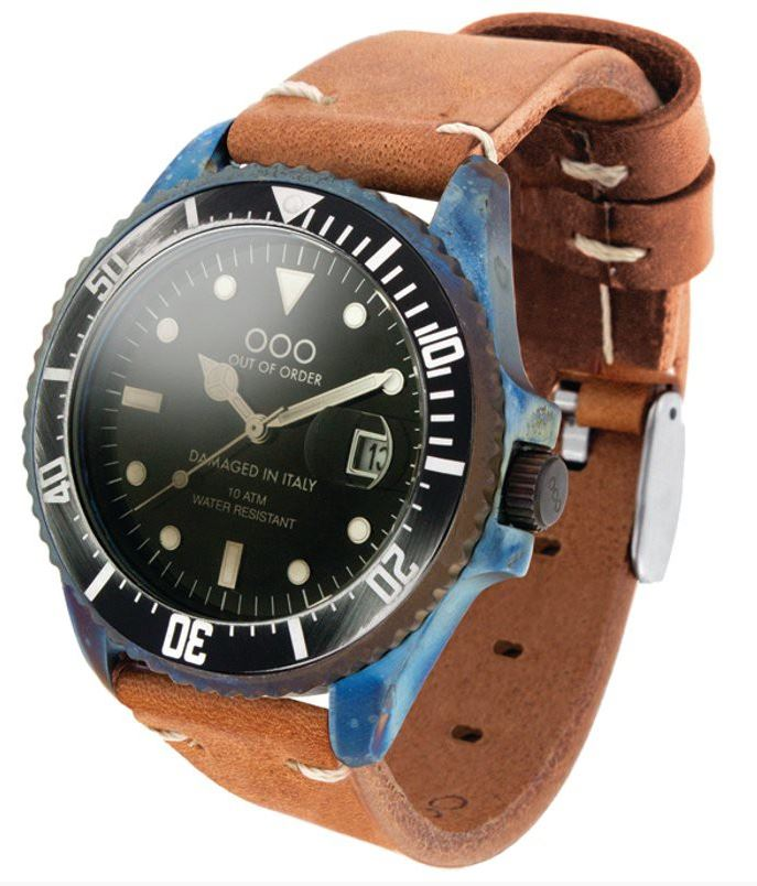 OOO Diver 44mm Light Brown