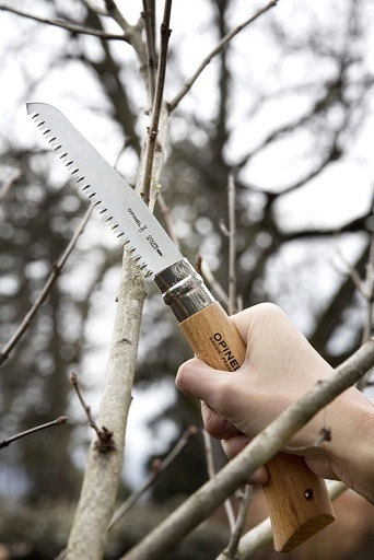 Opinel No.12 Folding Saw - Beechwood