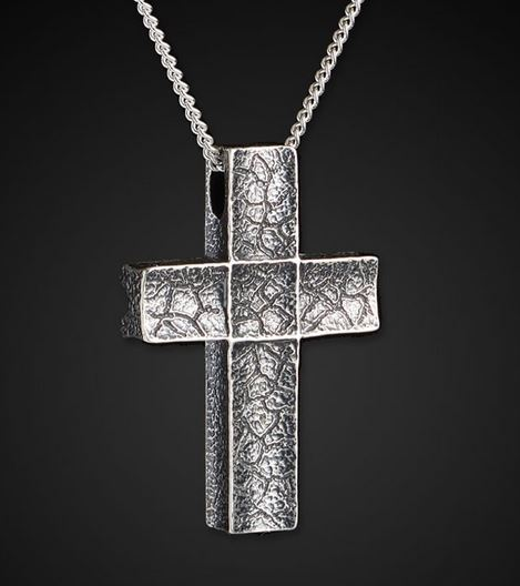 William Henry P31 Unum Sterling Silver Cross Pendant