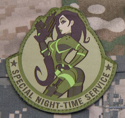 Mil-Spec Monkey Patch - Special Night Time Service
