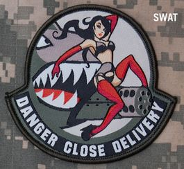 Mil-Spec Monkey Patch - Danger Close Delivery