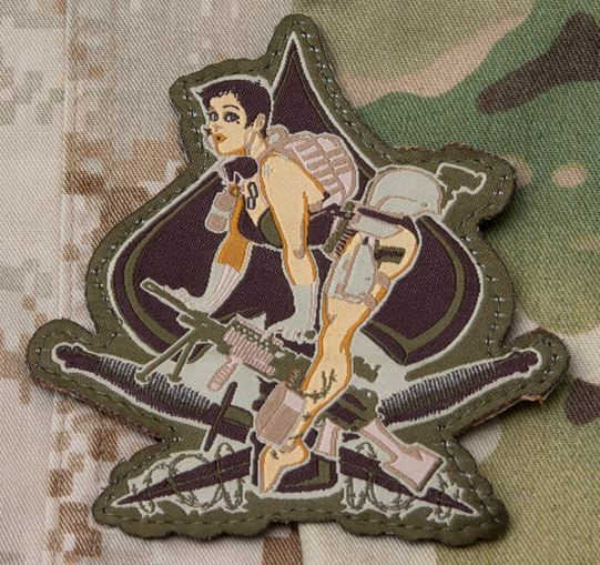 Mil-Spec Monkey Patch - Aces High - Multicam