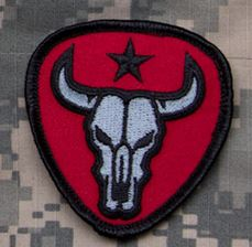 Mil-Spec Monkey Patch - Bull Skull