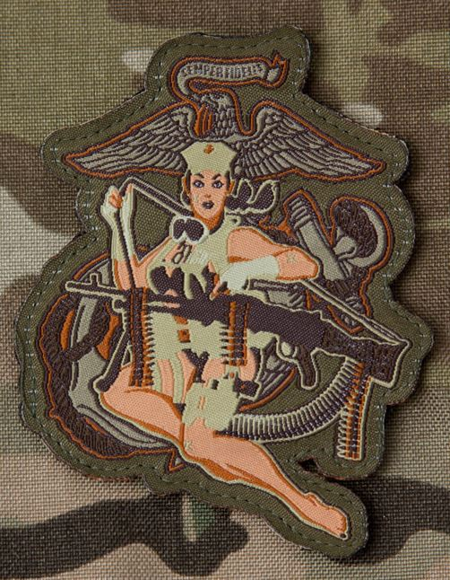 Mil-Spec Monkey Patch - Desert Marine - Multicam