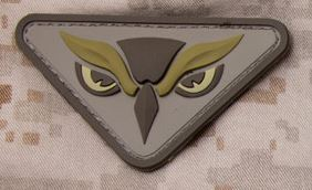 Mil-Spec Monkey Patch - Owl Head