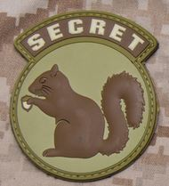 Mil-Spec Monkey Patch - Secret Squirrel PVC