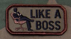 Mil-Spec Monkey Patch - Like a Boss
