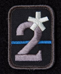 Mil-Spec Monkey Patch - 2 Assterisk - SWAT