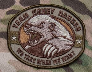Mil-Spec Monkey Patch - Honey Badger