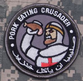 Mil-Spec Monkey Patch - Pork Eating Crusader