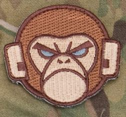 Mil-Spec Monkey Patch - Monkey Head Logo