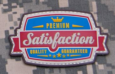 Mil-Spec Monkey Patch - Satisfaction PVC