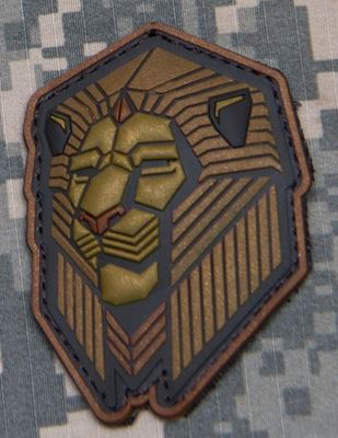 Mil-Spec Monkey Patch - Industrial Lion PVC