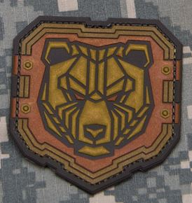 Mil-Spec Monkey Patch - Industrial Bear PVC