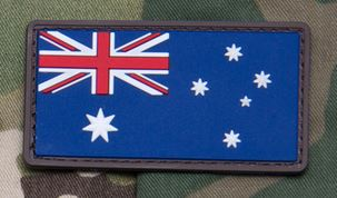 Mil-Spec Monkey Patch - Australian Flag PVC