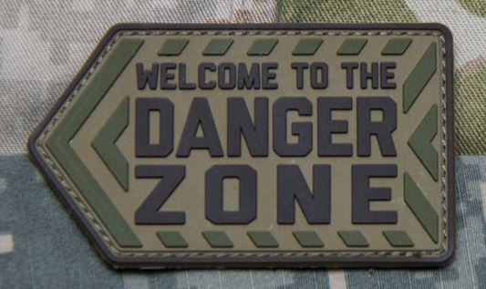 Mil-Spec Monkey Patch - Danger Zone PVC