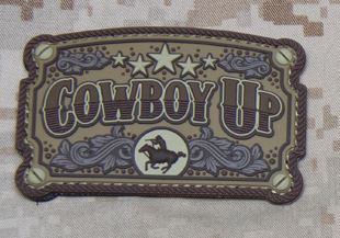 Mil-Spec Monkey Patch - Cowboy Up PVC